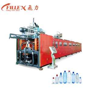 6 Cavity 12000bph Rotary Heating Mesin Pembuat Botol Botol PET